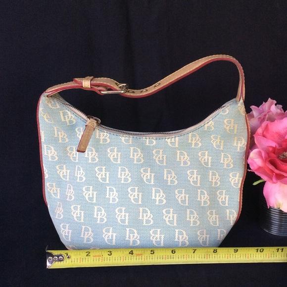 Dooney & Bourke Handbags - Dooney And Bourke Blue Signture Bag